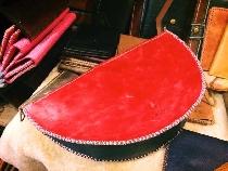 Túi dưa hấu - túi đeo chéo da thật