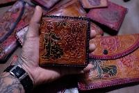 Set Ví da handmade Ấn Độ
