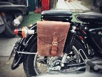 Túi da xe moto