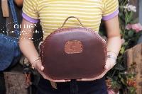Túi xách da thật phong cách vintage