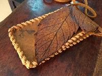 Túi xách da thật handmade- ip6plus