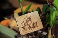 Ví da nam - khắc thuyền